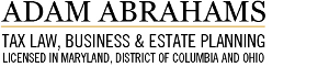 Adam Abrahams Tax Law Business & Estate Planning Logo